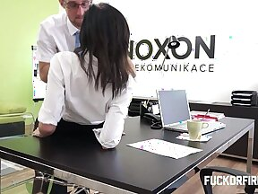 mallu Vice Wife Strap On Ass Fucked At Office