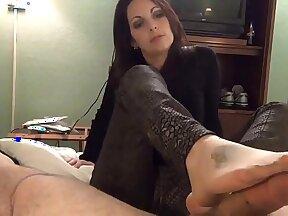 Candid Seductive Hinatą Gallo Very slender Nylon Foot Vivian
