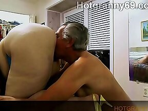 Cylons granny chastity session